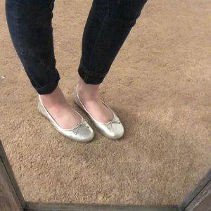 Sam Edelman Shoes - Silver Ballet Flats